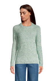 Women's Tall Raglan Sleeve Crew Neck Sweater