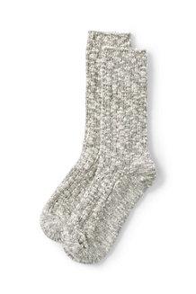 Chaussettes Côtelées Marl, Femme