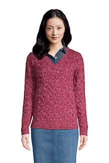 Women's Cotton Drifter V-Neck Jumper