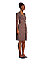 Women's Plus Twist Front Fit & Flare Wrap Dress