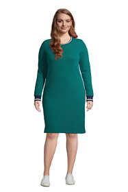Women's Plus Size Serious Sweats Crew Neck Dress