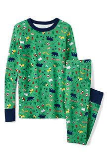Schmal geschnittenes Pyjama-Set für Jungen