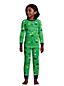 Boys' Pattern Snug Fit Pyjama Set