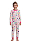 Pyjama 2 Pièces à Motifs, Fille