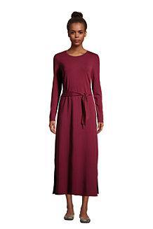 Maxi Robe en Coton Modal Stretch, Femme