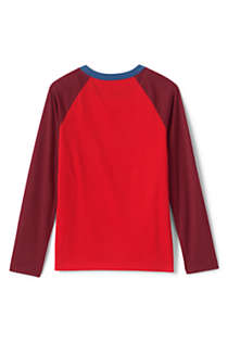 Boys Husky Long Sleeve Flip Sequin Raglan Graphic Tee, Back