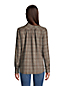 Women's Long Sleeve Flannel Boyfriend Shirt
