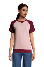 Women's Serious Sweats Short Sleeve Sweatshirt