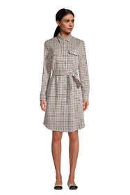 Women's Tall Sport Knit Shirt Dress - Jacquard