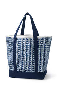 Print Extra Large Lightweight Canvas Tote Bag