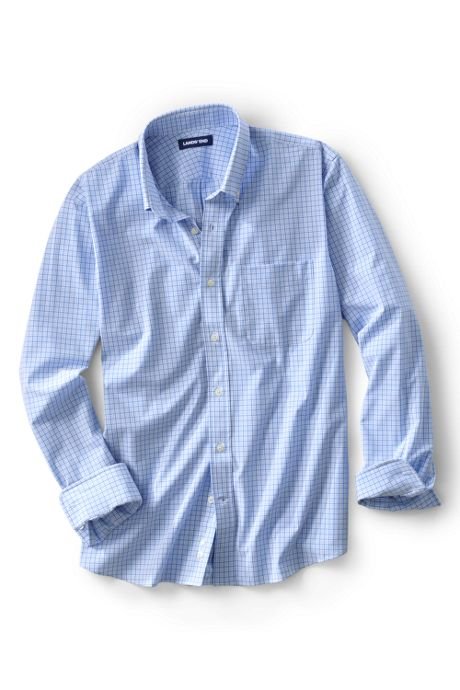 Men's Traditional Fit Stretch Commuter Dress Shirt