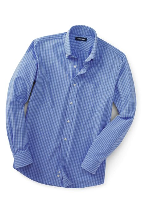 Men's Big and Tall Traditional Fit Stretch Commuter Dress Shirt