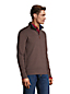 Men's Brushed Rib Heather Half Zip Jumper