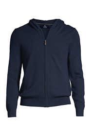 Men's Cashmere Full Zip Hoodie