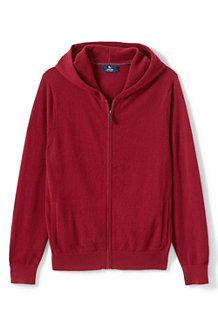 Men's Cashmere Full-Zip Hoodie