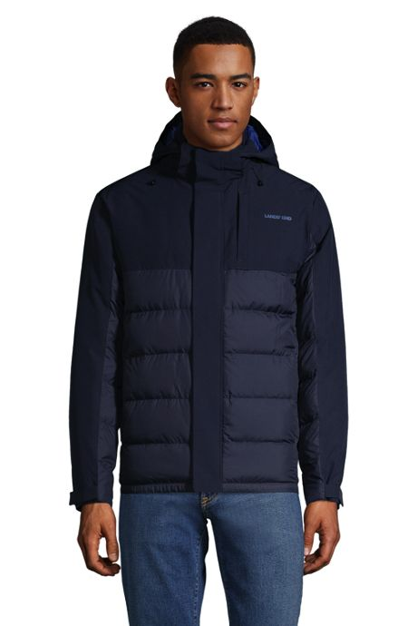 Men's Insulated Hybrid Parka