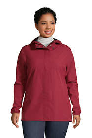 Women's Plus Size Waterproof Rain Jacket