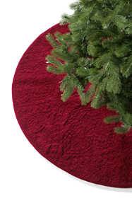Quilted Velvet Medallion Tree Skirt