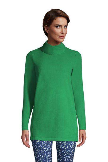 Women's Fleece Tunic Pullover Top