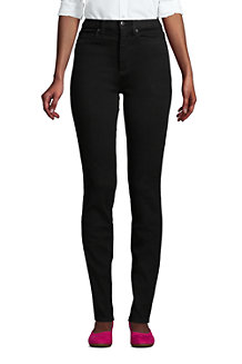 360° Lift & Form Jeans Curvy Skinny Fit, High Waist, in Schwarz für Damen