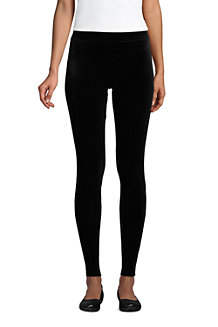 Samt-Leggings SPORT KNIT für Damen