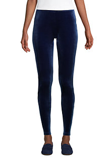Legging en Velours Stretch Sport Knit, Femme