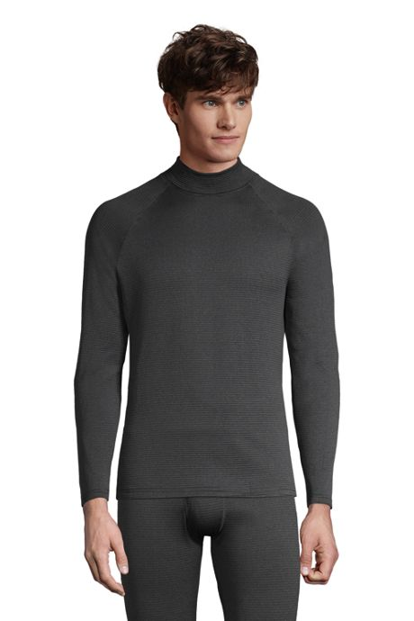 Men's Mock Neck Heavyweight Thermaskin Long Underwear