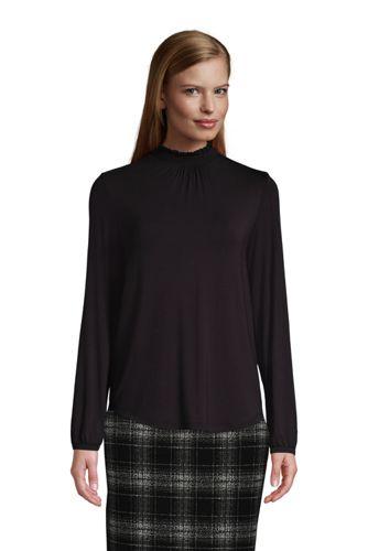 Shirt mit Smok-Details für Damen