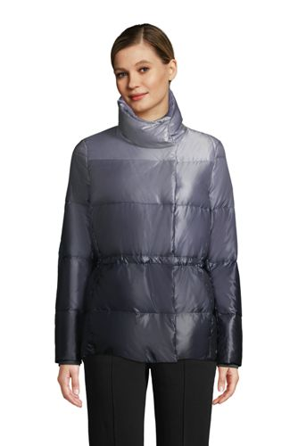 Women's Wrap Quilted Down Jacket