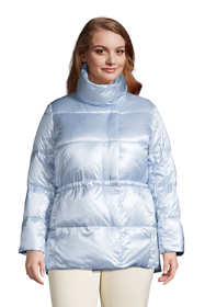 Women's Plus Size Wrap Quilted Down Jacket
