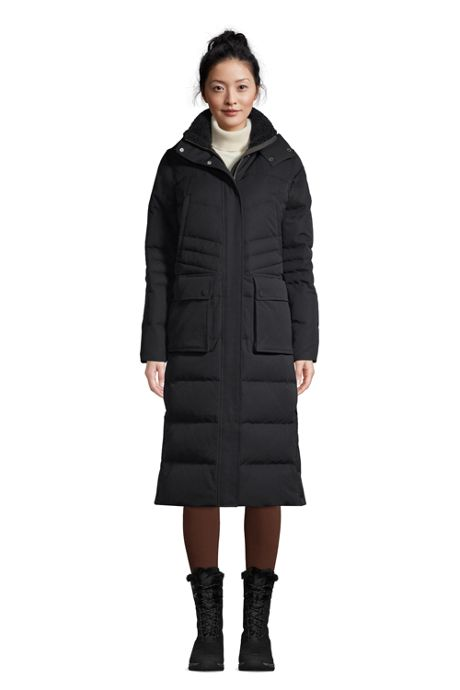 Women's Expedition Winter Maxi Long Down Coat with Hood