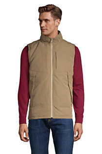 Men's Packable Travel Vest, Front