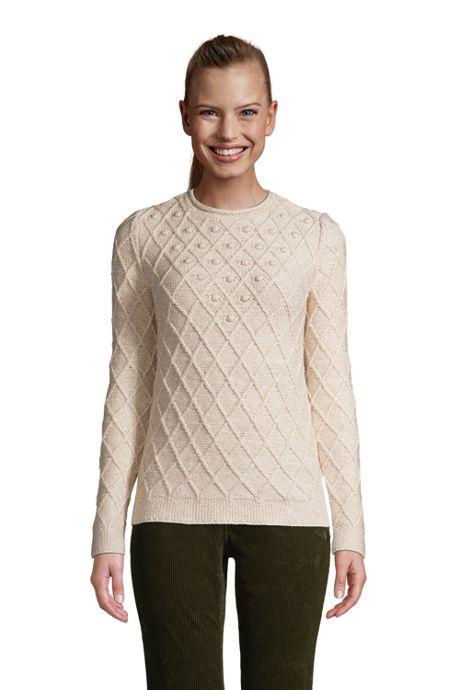 Women's Cotton Blend Rollneck Sweater