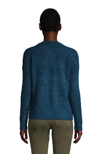 Women's Teddy Crew Neck Sweater Petite
