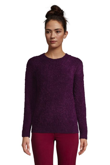 Women's Teddy Crew Neck Sweater