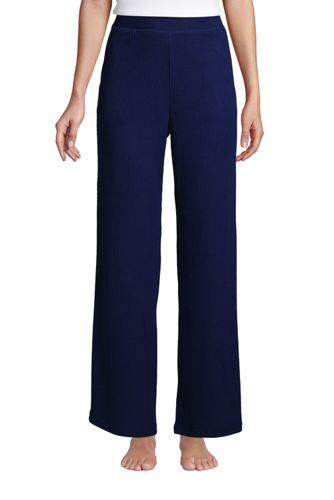 Women's Rib Wide Leg Pyjama Bottoms