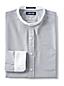Men's Cotton Oxford Grandad Shirt With Contrast Collar