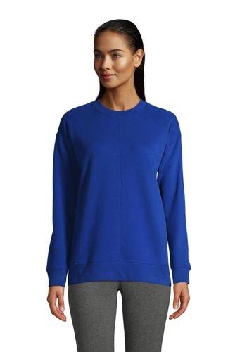 Women's French Terry Seamed Sweatshirt