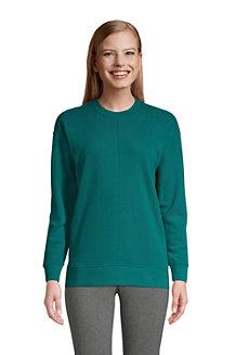 Women's French Terry Seamed Sweatshirt