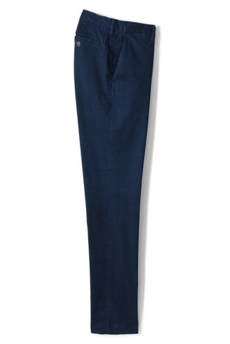 Chino Casual Slim Stretch Ourlets Sur-Mesure Imprimé, Homme Stature Standard