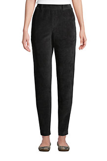 Women's Sport Knit Cord Pull On Tapered Trousers
