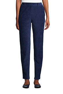 Pantalon Fuselé Taille Haute Sport Cord, Femme