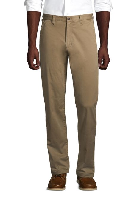 Men's Stretch Traditional Fit Flannel Lined Knockabout Chino Pants
