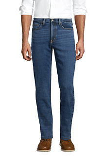 Men's Stretch Flannel Lined Jeans, Traditional Fit