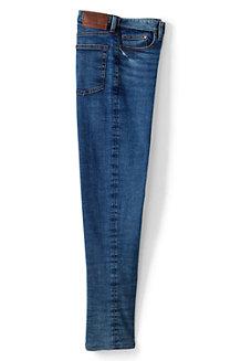 Classic Fit Komfortbund-Jeans mit Flanellfutter für Herren