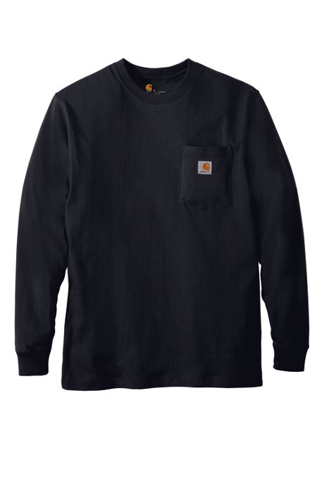 Carhartt Unisex Regular Workwear Pocket Long Sleeve T-Shirt