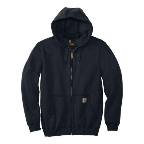 Carhartt Unisex Regular Midweight Full Zip Hoodie Sweatshirt