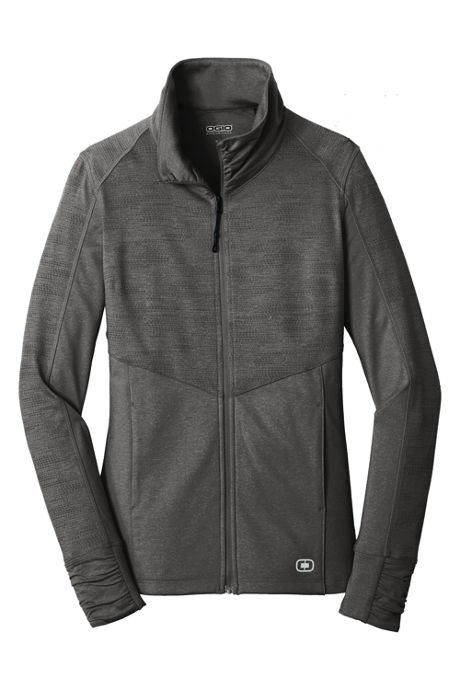 OGIO Women's Plus Endurance Sonar Full Zip