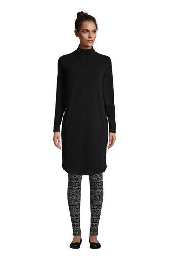 レディス・サーマチェック100フリース・ハーフジップ・ドレス/長袖
