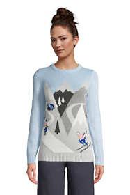 Women's Cotton Drifter Crew Neck Sweater - Pattern